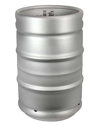 1/2 Barrel Stainless Steel Commercial Beer      15.5 Gallon