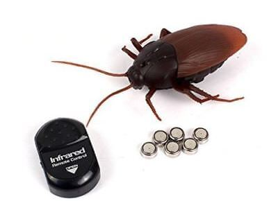 Remote Terrifying Control Mock Fake Cockroach Toy Spiders Ant Joke Trick RC Toys