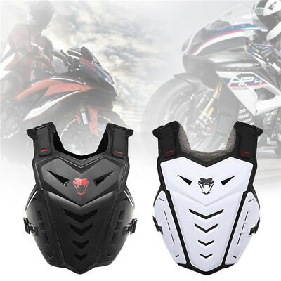 Men's Motorcycle Body Armor Vest Jacket Spine Chest Protection Riding Gear