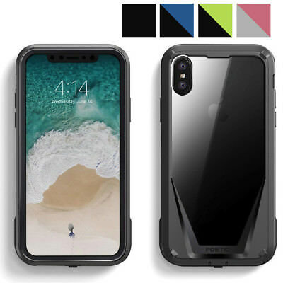 Poetic Guardian Case Full-Body Rugged Hybrid Bumper for Apple iPhone X/iPhone Xs