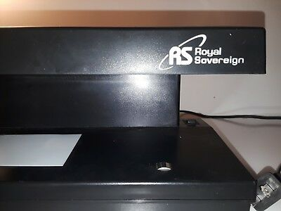 Royal Sovereign 4 Way Ultraviolet Magnetic Counterfeit Detector Rcd-2000