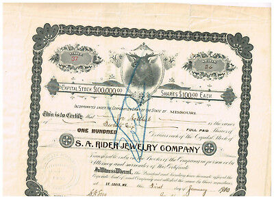 S.A. Rider Jewelry Co., 1910, interesting, #37