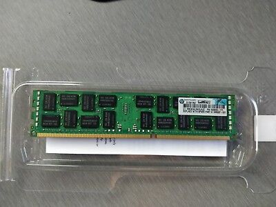 DDR3 ECC 8GB  2R X4  PC3-10600R Server HP P/N 500205-171 MEMORY