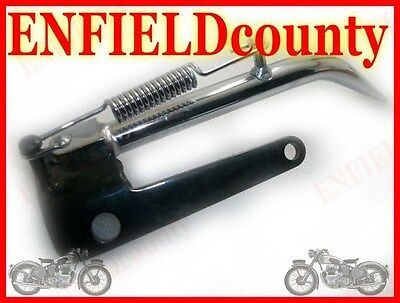 Brand New Royal Enfield Bullet Chrome Plated Side Stand Spares2U