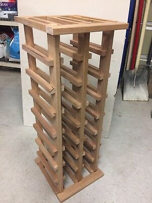 Wooden Wine Rack 16 Bottles