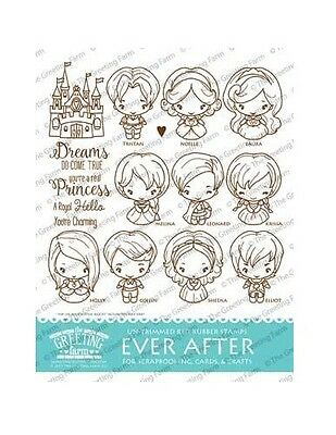 Ever after kit the greeting farm rubber stamp stamping craft ever after kit the greeting farm rubber stamp stamping craft princess bean m4hsunfo