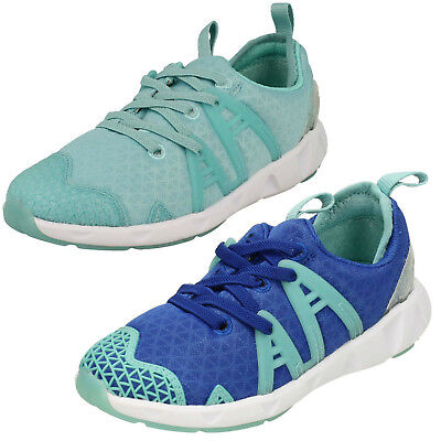 Filles Gloforms Lumineux Fluo Inf & Junior Baskets Toile F&g Fixations