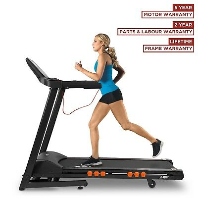 JLL® T350 Folding Treadmill auto Motorised Incline Running Machine