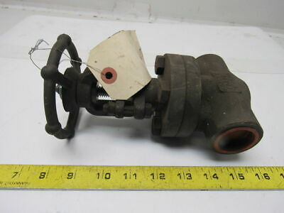 "Bonney Forge HL11 1"" Socket Weld Gate Valve 800 WP"