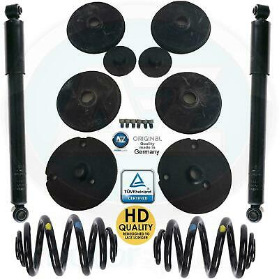 For Mercedes Vito 108 110 Td Cdi W638 Rear Coil Springs Conversion Shockers Kit