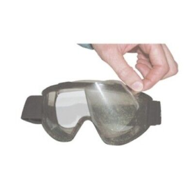 SAS Safety 5106-10 Peel-Off Lens Covers for 5106 Goggles (10pk)