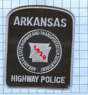 Police Patch  - Arkansas - ARKANSAS HIGHWAY POLICE