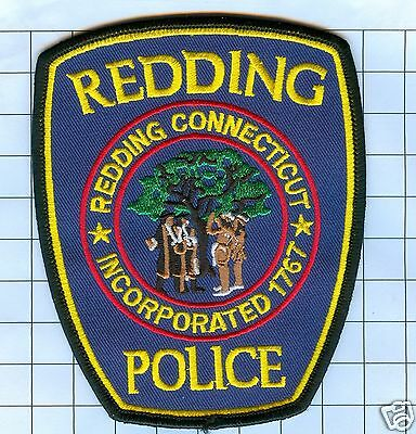Police Patch - Connecticut - Redding 1767