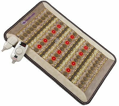 ThermoGem FIR Mini Mat - Jade Tourmaline Amethyst - 20x32 InfraRed Heating Pad