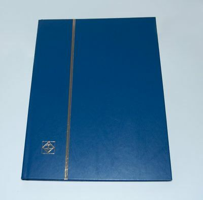 Lighthouse Hardcover Stockbook, Blue - LS4/8 (16 Page)-Free shipping!