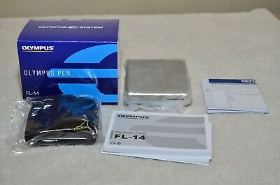 Olympus FL-14 Electronic Shoe Mount Flash For Olympus Pen *** NEW ***