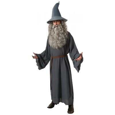 Halloween Lord Of The Rings Gandalf Wizard Cosplay Costume Fancy Party Outfit HH