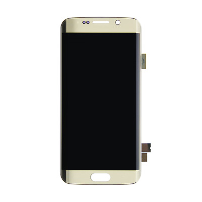 LCD Screen Display Touch Digitizer Assembly For Samsung Galaxy S6 Edge Gold