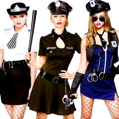 Women's Clothing Clothing, Shoes & Accessories Sexy Police Woman Costume Ladies Officer Rita Dem Rights Lady Cop Uniform Womens Punctual Timing