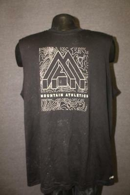 276c5d3a3452e The North Face Mens XL quality tank top mountain athletic black shirt nice!