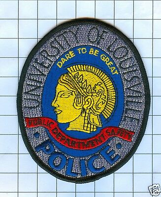 Police Patch  - Kentucky  - UNIVERSITY OF LOUISVIILLE oval