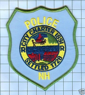Police Patch  - New Hampshire - Rochester 1728 Chartered 1891