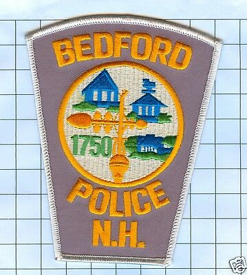 Police Patch  - New Hampshire - Bedford 1750