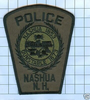 Police Patch  - New Hampshire - Nashua 1853 Dunstable  1673