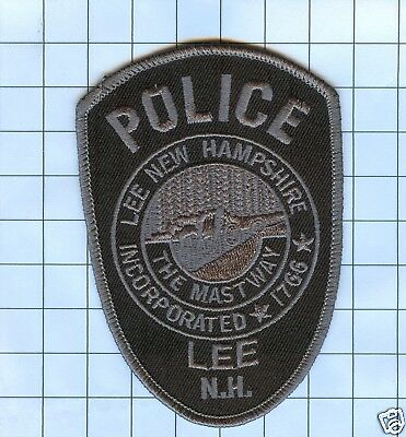 Police Patch  - New Hampshire - Lee The Mastway Inc 1766