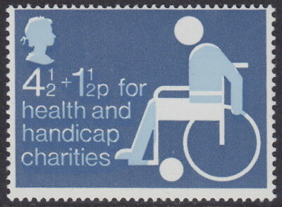 GB - 1975 4½p + 1½p Health and Handicap 'Charity' Colour SHIFT Variety - UM/MNH