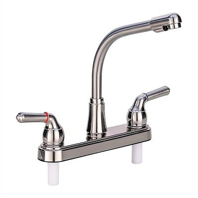 Rv Kitchen Faucet 8 Tall Spout Brushed Nickel Replacement Faucet Camper