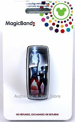 NEW Disney Parks TRON Magic Band 2 Blue MagicBand 2.0 Limited Release - RETIRED