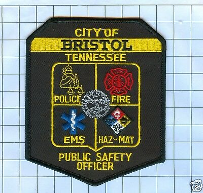 Police Patch  - Tennessee - City of Bristol