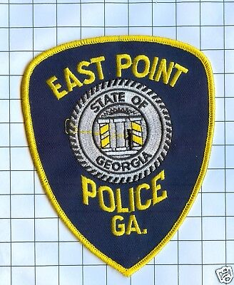 Police Patch  - Georgia - East Point
