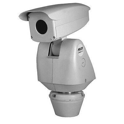 New Pelco ESTI6100-2N IP/ANALOG P/T THERMAL CAMERA 640X480 RES, 24VAC 100MM LENS