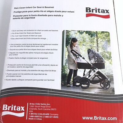Britax Rain Cover Infant Car Seat And Bassinet Size New in Box 2014