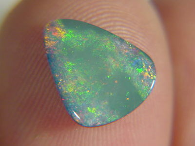 BUTW natural genuine australian opal triplet free form  cabachon   9940B