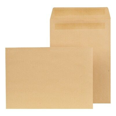 Manilla Brown Envelopes Quality Self Seal Plain Window C4 A4 C5 A5