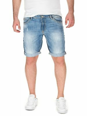 Tom Tailor Herren Shorts Regular Denim Berrmuda kurze Hose Sommer Jeans NEU WOW