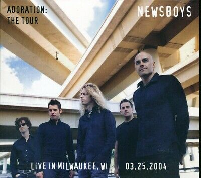SEALED NEW CD Newsboys - Adoration: The Tour, Live In Milwaukee, Wisconsin, Marc