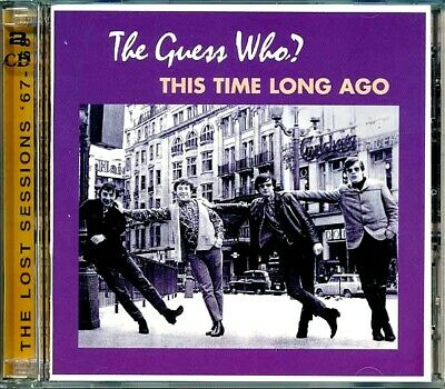 SEALED NEW CD Guess Who, The - This Time Long Ago: The Lost Sessions 67-68