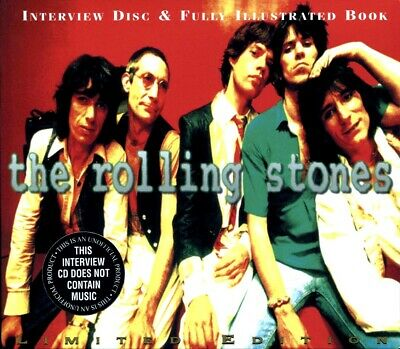 SEALED NEW CD Rolling Stones, The - Fully Illustrated Book And Interview Disc