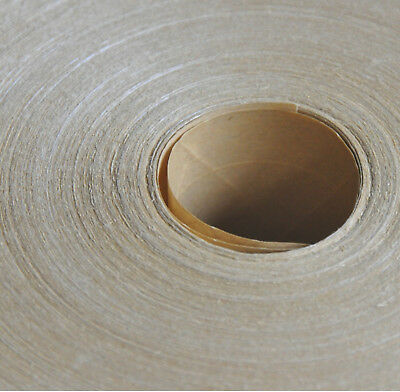 "X10 LOT 3"" Inch Gummed Paper Reinforced Fibreglass Water Activated Tape 450 FT"