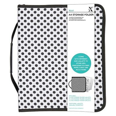 Xcut A4 Embossing Folder and Die Case, Organiser, Storage