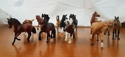 vintage 1999 Breyer Reeves miniature pony horse lot of 11 great condition model