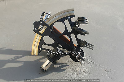 """Nautical Solid Brass Sextant 8"""" Maritime Astrolabe Ships Working Instrument ."""