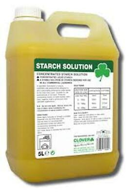 Clover Concentrated Starch Solution (5Ltr) 429