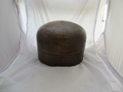 Milliners Wooden Hat Block, Antique Victorian c. 1890. CDP03205