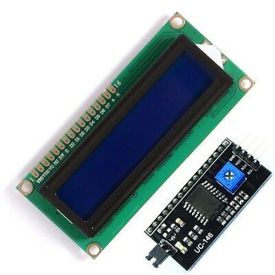 Module Ecran LCD 2x16, 1602, 5V, Retroeclairage Bleu - Module Interface I2c