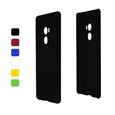 Case Rubberised for Xiaomi mi Mix 2 (Hard) Protective Sleeve Cover Colour Choice